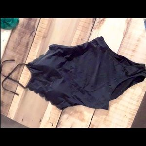 Other - NWT Large scalloped bathing suit